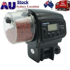 AU Automatic Timer Food Feeder Fish LCD Controllable Aquarium Feeding