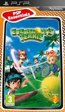 Everybodys Tennis (PSP) Spanish Import Brand New & Factory Sealed