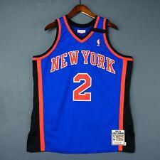 100% Authentic Larry Johnson Mitchell & Ness Knicks Jersey Size 48 XL Mens ewing