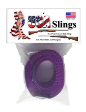 Rifle Sling Purple - 2 Point Gun Sling