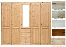 Schlafzimmerschränke im Landhaus-Stil aus Massivholz