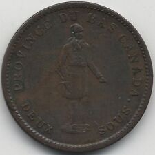More details for 1837 canada quebec bank one penny token | pennies2pounds