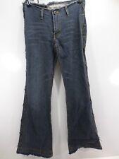 Mattino Italy  size 28 AUS 12  denim jeans frayed look