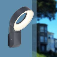 Lutec Meridian 6163S LED Außenleuchte Wandleuchte grau
