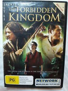 The Forbidden Kingdom - 2008 Action Adventure Fantasy - R4 - dvd ex-rental