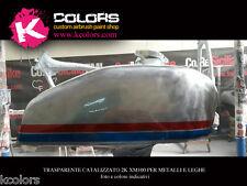 Vernice Trasparente Bicomponente 2K per metalli Antigraffio 500gr