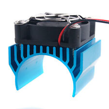 RC 540 550 Motor Alum Heat Sink 40x36mm Cooling Fan 5-7.4V HSP 7020 Blue Part