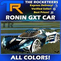[PC] Rocket League Every Ronin GXT Limited Battle-Car Grey Lime etc.