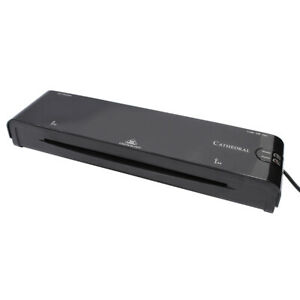 A4 Laminator With Jam Release - Black