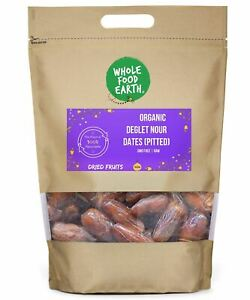 Organic Deglet Nour Dates (Pitted)   GMO Free