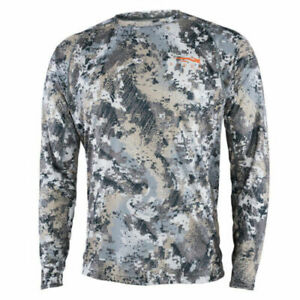 Sitka Women's Whitetail Lightweight Crew LS Optifade Elevated II 10053-EV Large