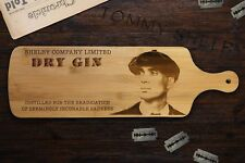 Peaky Blinders Gin Board, Quality Gift for Him, Gift For Her.