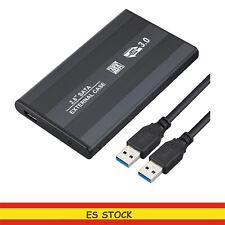 Disco Duro Caja USB 3.0 SATA de 2.5 Inch HDD/SSD Case Transparente USB CABLE