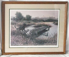 """""""Hindslight"""" Print Signed Susan Norris-Ducks Unlimited Artist of the Year'87-88"""