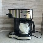 Hamilton 49980Z 12 Cup 2 Way Coffee Maker - Black and Stainless photo