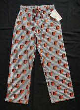 Baltimore Orioles MLB Women's Pajama Sleep Lounge Pants Cotton NWT Sz M