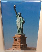 "Statue of Liberty Vintage Photo 2"" x 3"" Refrigerator Locker MAGNET New York NYC"