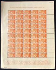 ESPAÑA - AÑO 1951- EDIFIL 1098** - ISABEL LA CATÓLICA - PLIEGO COMPLETO - MNH