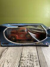 Mira Solido Chevrolet Texaco Tow Truck 1953 1:18 Die Cast Red in original box