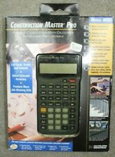 Calculated Industries Construction Master Pro 4065 Calculator W/ Box