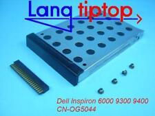 DELL Inspiron 6000 Festplattenrahmen + Adapter + Schrauben CN-OG5044, 0KJ698