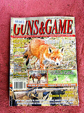 GUNS  &  GAME  MAGAZINE    SOUTH PACIFIC JOURNAL  OF FIREARMS & HUNTING  No. 72