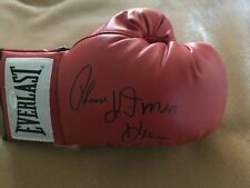 "Thomas "" Hitman "" Hearns Autographed Signed Boxing Glove - JSA"