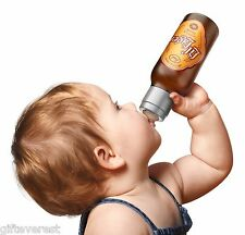 CHILL, BABYli'l Lager Baby Bottle by Fred Beer Baby Bottle great gag funny gift