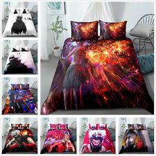 3piece Tokyo Ghoul Bedding sets Pillowcase Duvet Covers Quilt Single Double king