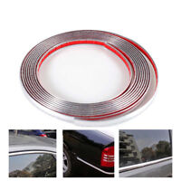 Styling Adhesive Sticker  Moulding Trim Car Body Chrome Strip Bumper Protective