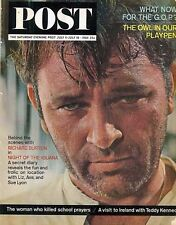 Saturday Eve Post July 11-18 1964 Richard Burton Night of the Iguana Vw Beetle