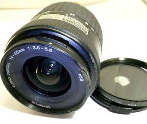 Olympus 14-45mm F3.5-5.6 Lens For Four Thirds 4/3 Zuiko Digital E-530 E-330