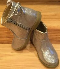 978dc20e58b8 Gymboree Girls Size 4 (Toddler) Silver ZIP-Up Boots. Silver Boots.