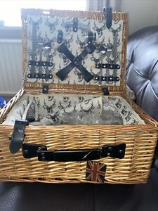 New East2Eden Picnic Basket With Accessories
