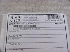 Cisco UCS-SD-64G-S, 64GB SD Memory Card Module for Cisco UCS Servers