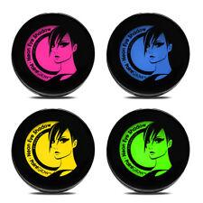 Paintglow Neón UV sombra de ojos juego 4 amarillo rosado verde azul 4x 3.5G GR