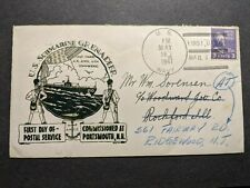 Submarine USS GRENADIER SS-210 Naval Cover 1941 WALTON FDPS Cachet COMMISSIONED