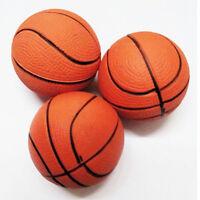 2pcs 6.3CM Basketball Hand Wrist Exercise Stress Relief Squeeze Soft Foam Ball