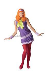 Femmes Daphne Costume Déguisement Scooby Doo Dessin Animé TV Show Cosplay Filet