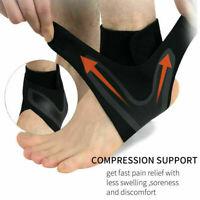 Unisex Men Sport Ankle Brace Gym Running Support Pain Relief Breathable Sprain