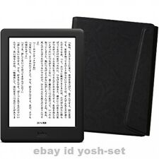 New Kobo Glo HD eReader Wi-Fi 6in 4GB Black Touchscreen bundle Sleep Cover Japan