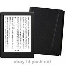 New Kobo Glo HD eReader Wi-Fi 6in 4GB Black Touchscreen bundle Sleep Cover Japan