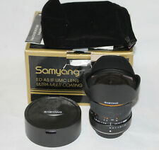 Samyang 14mm F2.8 ED AS IF UMC Lens Old four thirds fit