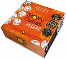 Set table for the Family Asmodee Story Educational Cubes Create your Historia