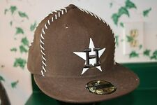 Houston ASTROS Cooperstown Collection New Era 59FIFTY MLB Brown size 8