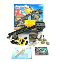 Playmobil 4041 quarry construction conveyor belt set digger toys Only Made Once