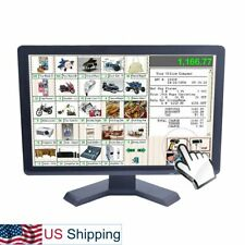 19 inch Touch Screen Monitor Built-in Speaker LED LCD Display High Resolution