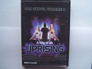 UPRISING OLDSKOOL 4 PACK CDs - VOL 8 FREEPOST