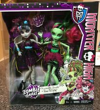 LOOSE Monster High Zombie Shake 2-pack of Dolls -  Rochelle & Venus Free S & H