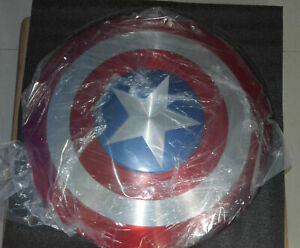 HOT CATTOYS 1:1 The Avengers Captain America Shield Strong Metal Genuine Leather